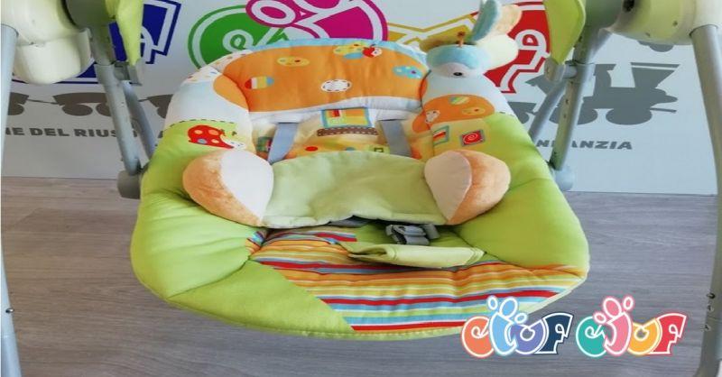 offerta dondolino per neonati usato Verona - occasione vendita dondolo elettronico CAM a Verona