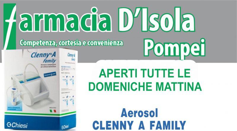 offerta vendita apparecchio AEROSOLTERAPIA pompei - occasione vendita CLENNY A FAMILY aerosol