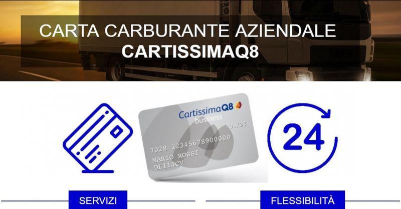 NONSOLOBENZINA promozione carta carburante CARTISSIMAQ8 flotta aziendale partita iva