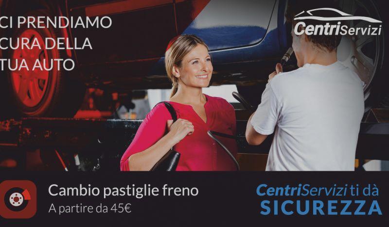 GeG SERVICE offerta cambio pastiglie freni - promozione sostituzione pastiglie auto