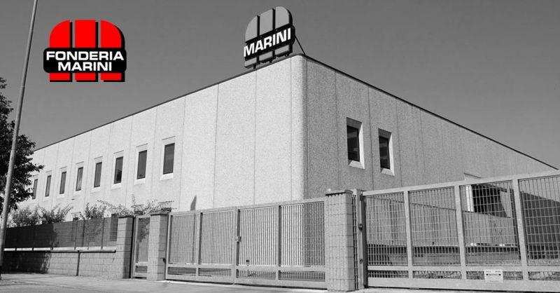 FONDERIA MARINI Offre Fonderie Sable Noyautage Italie Fusion noyautage en fonte made in Italie