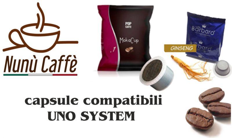 offerta vendita capsule compatibili UNO SYSTEM - occasione capsule UNO SYSTEM Moka Cup Ginseng