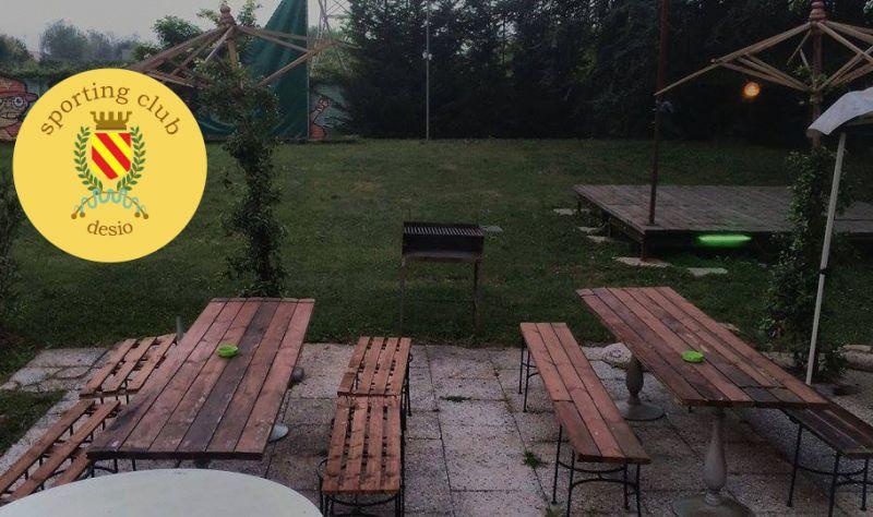 SPORTING CLUB DESIO offerta affitto spazio per grigliate - promozione area grigliata e tavoli