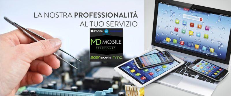 MD MOBILE offerta sostituzione batteria smartphone - occasione cambio batteria iphone Rimini