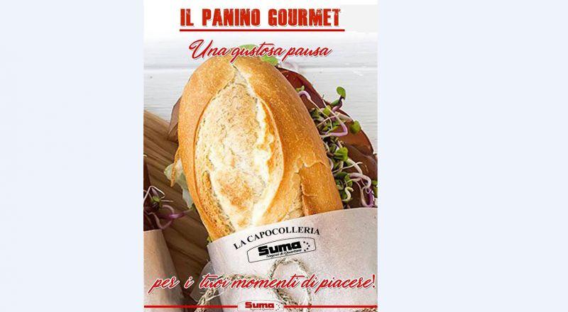 Offerta panino con Capocollo Santoro e Calice di vino pizzica