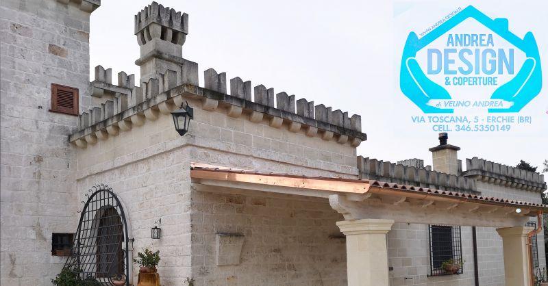 Andrea design e coperture offerta tetti in legno - occasione coperture in legno Brindisi