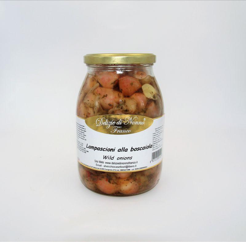 Offerta conserve pugliesi - Wild onions - Offerta Lampascioni - Cipolle selvatiche