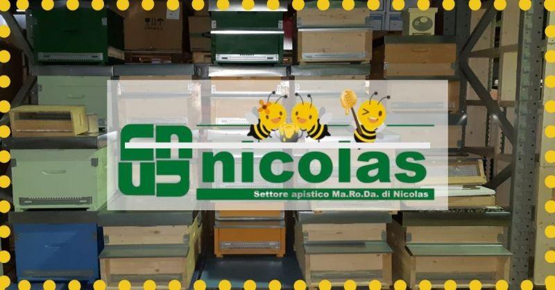 NICOLAS - Trova azienda specializzata settore apistico atrezzature abbigliamento apicolgtori
