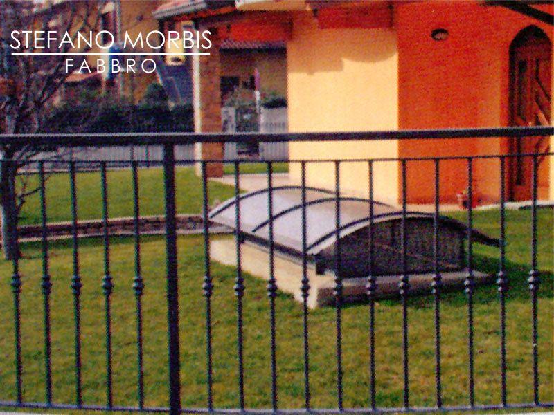 STEFANO MORBIS FABBRO realizza protezioni fisse - promo montaggio protezioni in ferro apribili