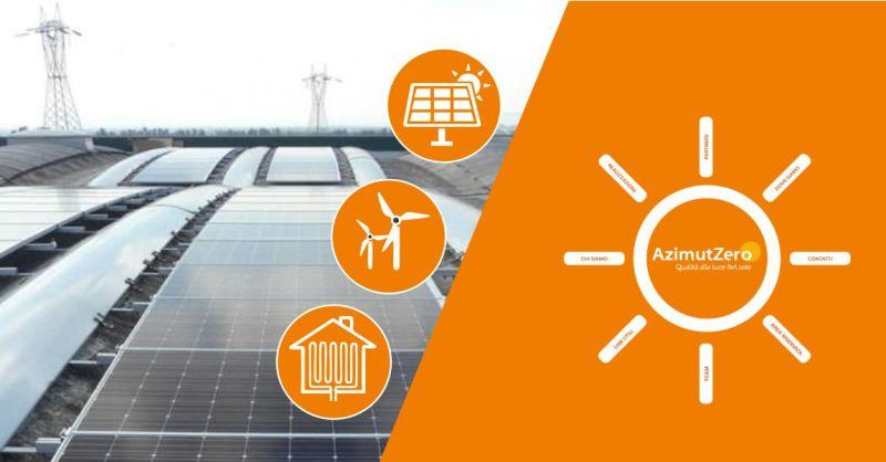 Azimut Zero  - offerta  impianti produzione energetica fonti rinnovabili civili e industriali