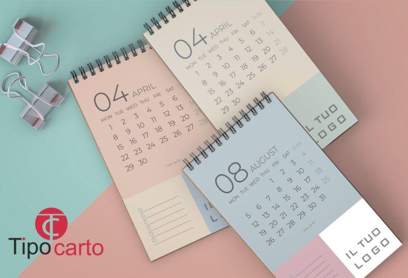 TIPOCARTO offerta calendari pubblicitari - promozione pubblicizza la tua attivita