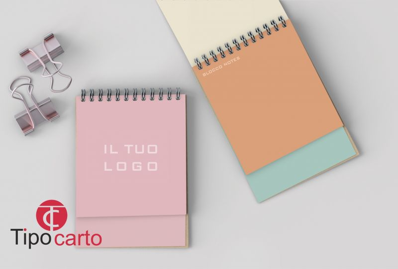 TIPOCARTO offerta blocco notes personalizzato - promozione bocco pubblicitario con logo