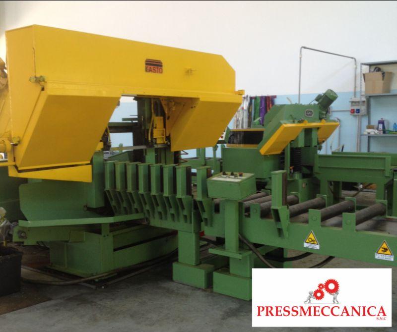 PRESSMECCANICA SNC offerta manutenzione segatrici a nastro - promozione riparazione macchine segatrici