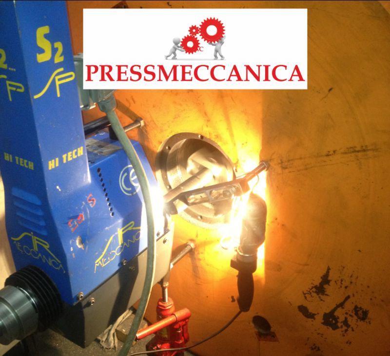 PRESSMECCANICA SNC offerta saldatura a freddo - saldatura con certificazione castolin