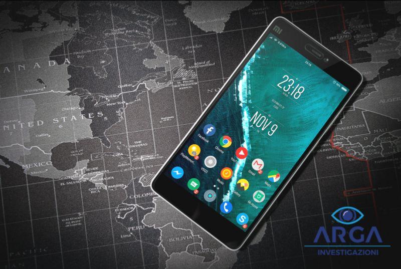 ARGA INVESTIGAZIONI come localizzare un cellulare - scoprire in tempo reale dove si trova una persona