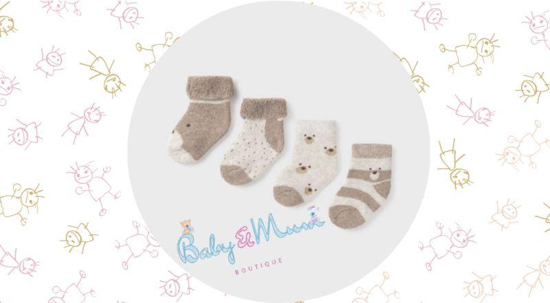 Baby Mum Boutique - offerta vendita online calze corte neonato Mayoral Design stampato
