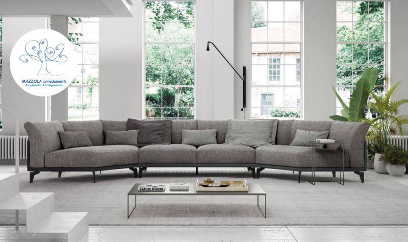 MAZZOLA ARREDAMENTI offerte divano baltic - promozione divano rivestito in tessuto