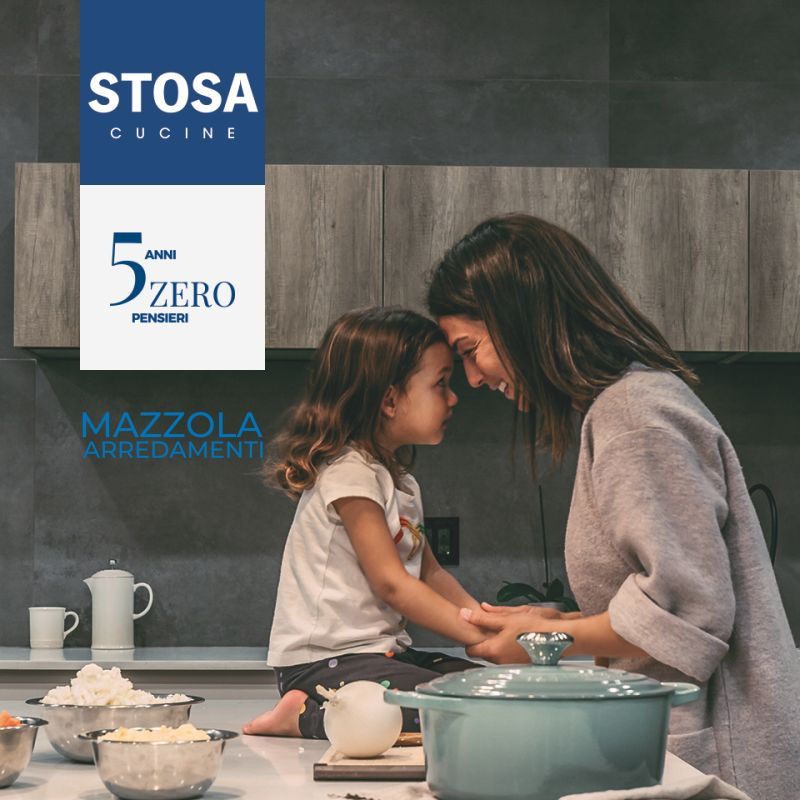 MAZZOLA ARREDAMENTI offerte cucine stosa 5 anni di garanzia - promozione arredamento garantito