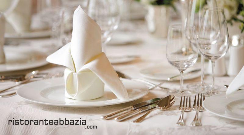 ABBAZIA RISTORANTE PIZZERIA offerta menu comunioni 2019 - promozioni menu cresime 2019