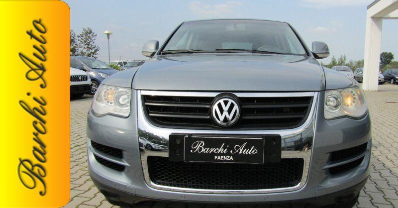 Barchi Auto offerta vendita VOLKSWAGEN Touareg 2.5 diesel - occasione vendita auto usate