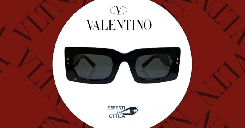 Esperti in Ottica -  Offerta vendita online occhiali Valentino da sole neri modello VA4094