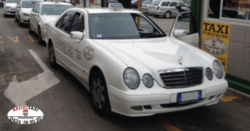 Radio Taxi offerta servizio di trasporto - occasione taxi per persone disabili Pordenone