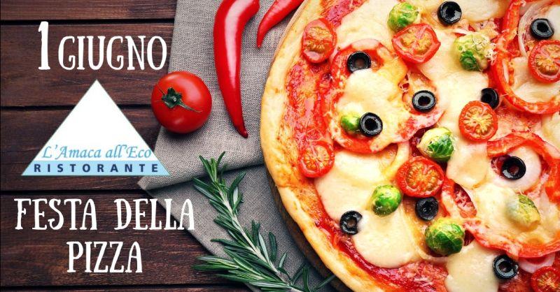 offerta festa della pizza 2019 Terni - occasione dove mangiare la pizza lago di Piediluco Terni
